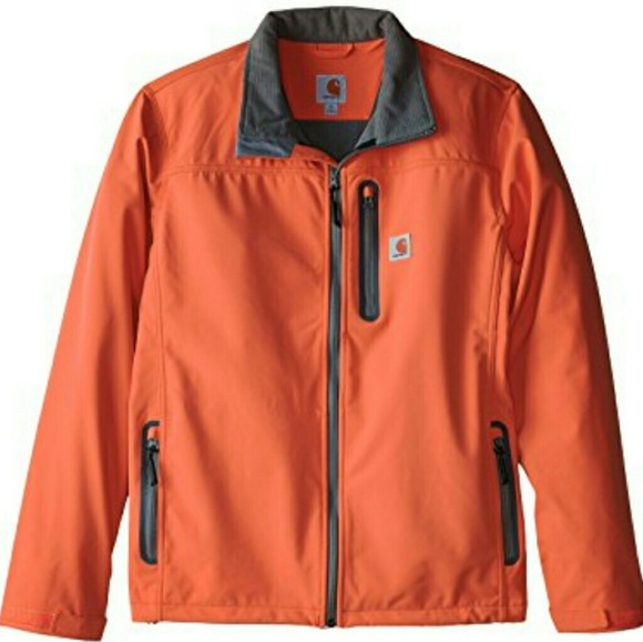 694a28160d426 Carhartt Jackets & Coats | 2x Tall Denwood Soft Shell Jacket Orange ...